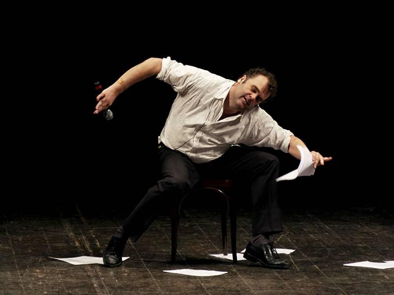 Pippo Delbono al Romaeuropa Festival con