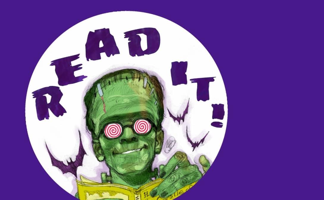 Frankenstein Maratona. Don't dream it, read it