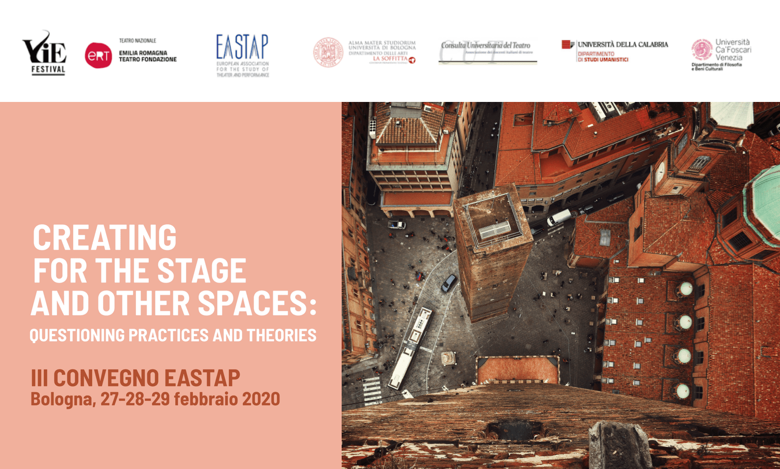 III Convegno EASTAP // Call for papers