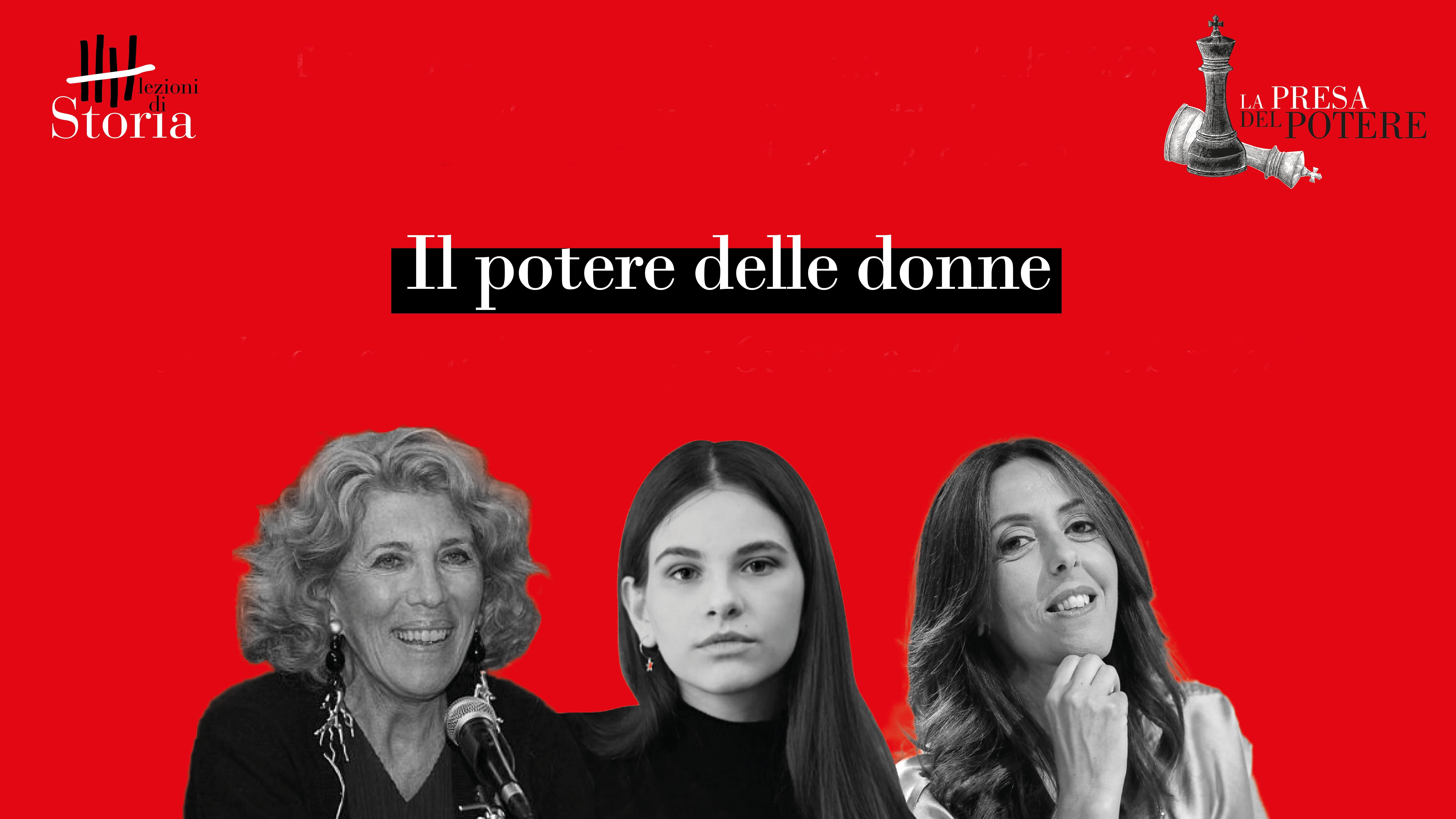 La presa del potere: ora tocca alle donne