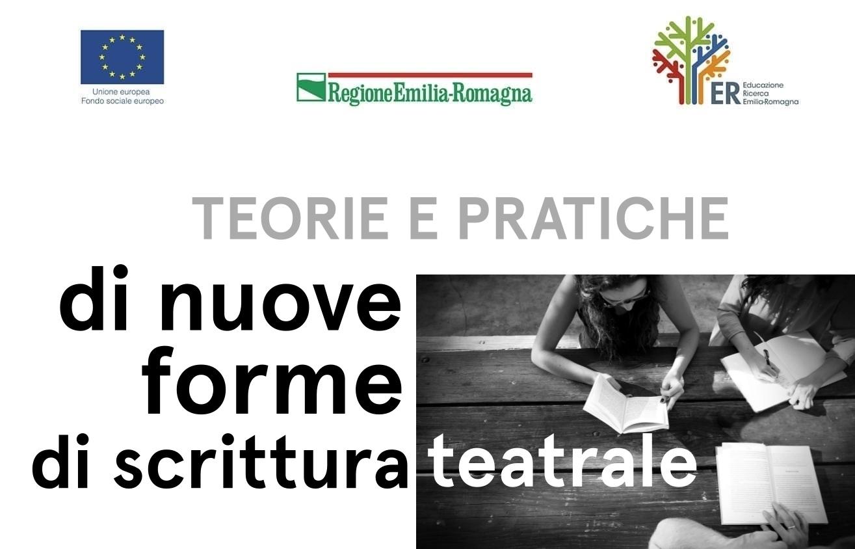 Bando di selezione per il corso Teorie e pratiche di nuove forme di scrittura teatrale